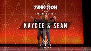 Kaycee Rice & Sean Lew | Funk'tion X 2018 [@VIBRVNCY Front Row 4K]