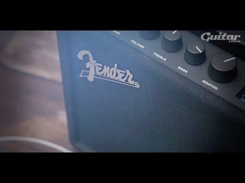 Fender Mustang GT 40 guitar amp demo