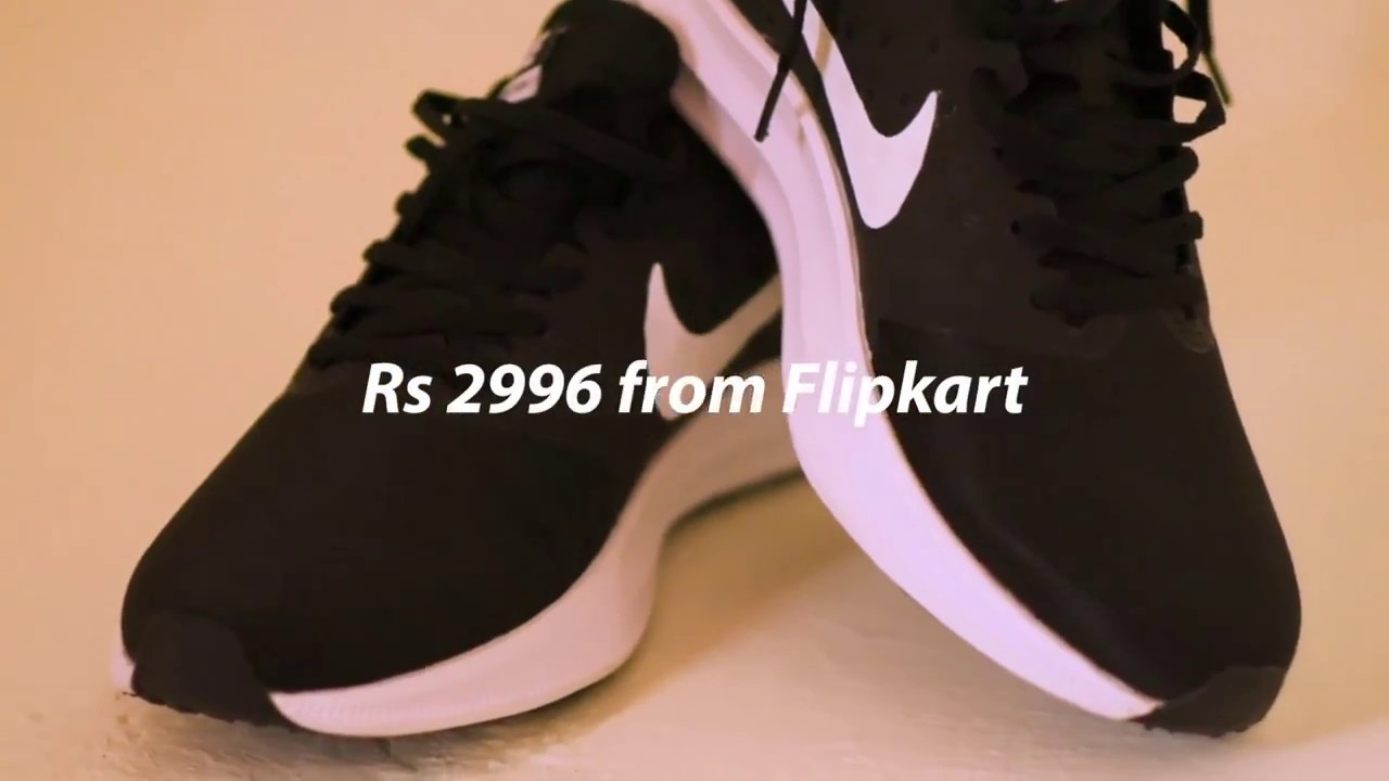 96a7a6cfed3 Nike DOWNSHIFTER 7 Running Shoes For Men (Black) - YouTube