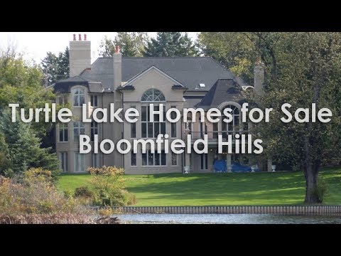 Turtle Lake Homes For Sale Bloomfield Hills - Call Russ At 248-310-6239 - Oakland County Real Estate