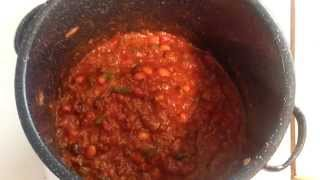 Easy Vegetarian Chili Recipe (vlog #14)