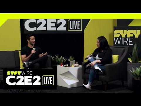 Tyler Hoechlin As Indiana Jones?!   C2E2 2019   SYFY WIRE