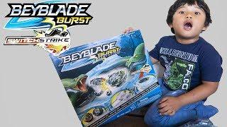 Beyblade Burst Evolution Switch Strike SHADOW SNAKE PIT BATTLE SET Toy Review
