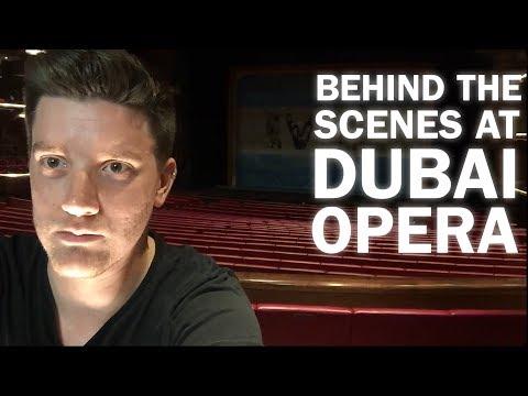 BEHIND THE SCENES SECRETS from Dubai Opera!