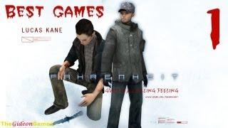 Best Games Прохождение Fahrenheit Indigo Prophecy HD - Часть 1 Одержимый