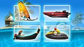 Deniz Motoru Yarışı - Tropical Isle Adventure - Tniy Lab Games  - Bıcır Funy Game