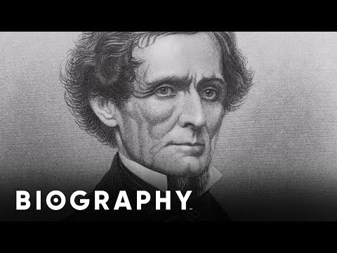 Jefferson Davis - First President of the Confederacy | Mini Bio | BIO