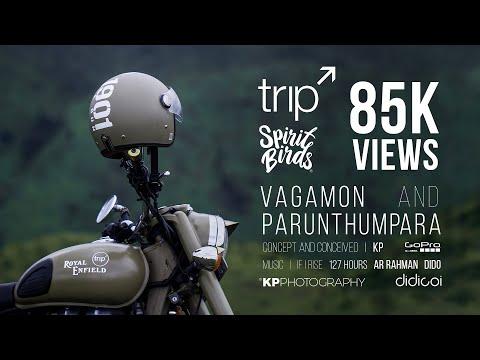 Royal Enfield _ Trip to Vagamon & Parunthumpara