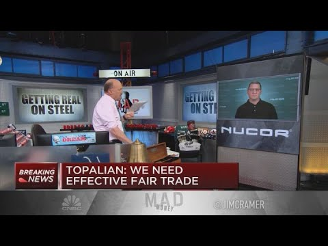 Nucor CEO On State Of The Steel Market: Prices Will Bottom In Second Quarter