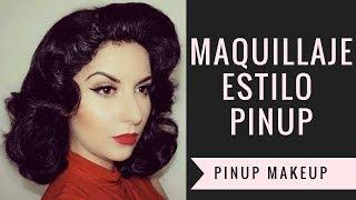 Gambar cover Maquillaje Pinup (Paso a Paso) | Pinup Makeup (Tutorial) ♥ Nena Moreno