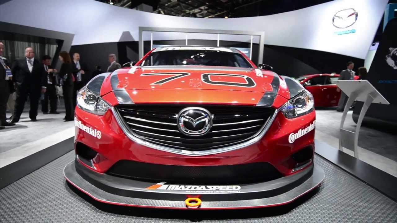 Mazda6 Grand Am Racecar Detroit 2013 Walkaround Youtube