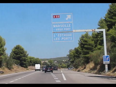 The French Highway - Driving In France - Off To Marseille