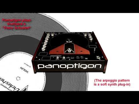"Panoptigon Plays KRAFTWERK's ""Franz Schubert"" on Vintage Vako Orchestron VIOLIN Disc"