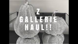 Z GALLERIE HAUL! GLAM/LUXE HOME DECOR HAUL!