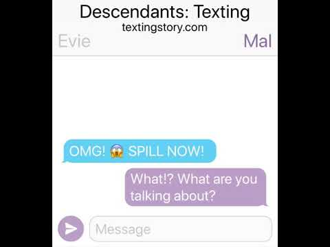 Descendants:Texting Series