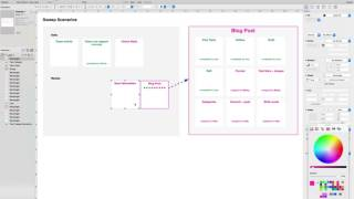 building a saas app workflow and wireframes
