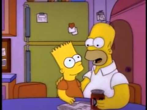 Homero Simpson La mujer es como la cerveza