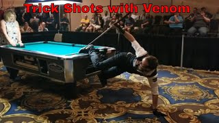 Florian Venom Trick Shots at the 2018 Las Vegas APA