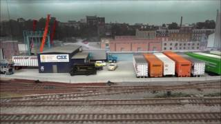 4K video ? A trip to the Windsor Model Train Club, part 1