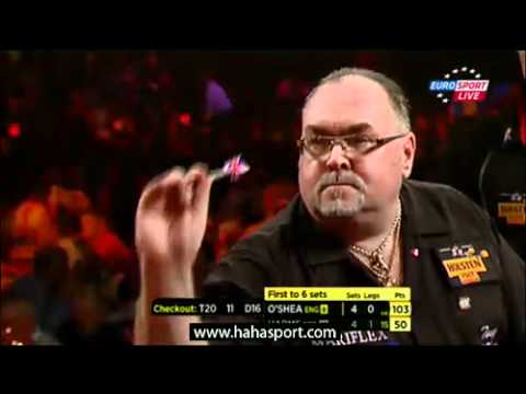 Wesley Harms v Tony O'Shea - World Darts Championship 2012 Semi fianl
