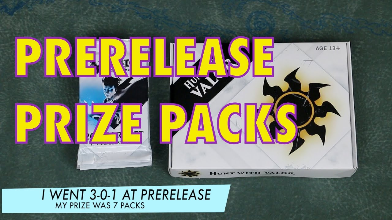 Mtg prerelease prizes for students