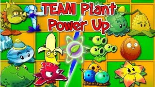 Plants vs. Zombies 2 New TEAM PLANT POWER UP 🍃  Vs Zombies PVZ 2(, 2016-10-07T11:00:01.000Z)