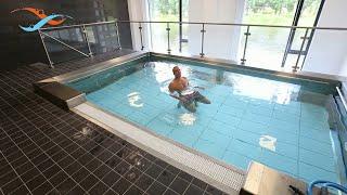 EWAC Medical - Modular pool - Movable swimming pool floor - Observation windows thumbnail