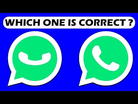 LOGO QUIZ CHALLENGE 2 || WHICH LOGO IS CORRECT || WhatsApp || ONLY FOR GENIUS