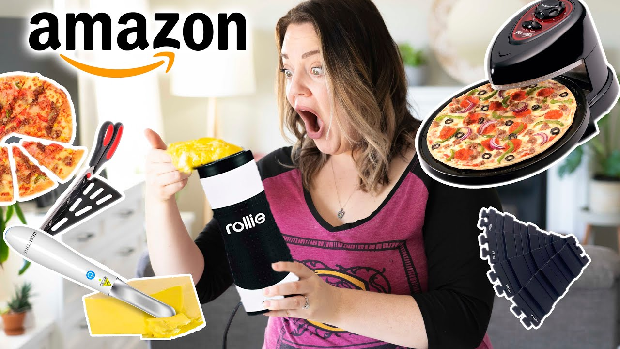 Trying More Weird AMAZON Baking Gadgets!