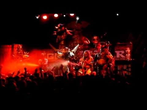 GWAR-Sick of You, live Brooklyn, NY Oct 16, 2012