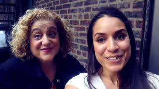Eyes On Broadway -  Vlog 12 HAIRCUT, MARY TESTA AND A SHOW DAY!