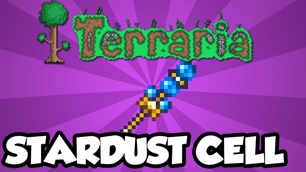 Best Terraria 1 3 Weapons - The Stardust Cell Staff - Best