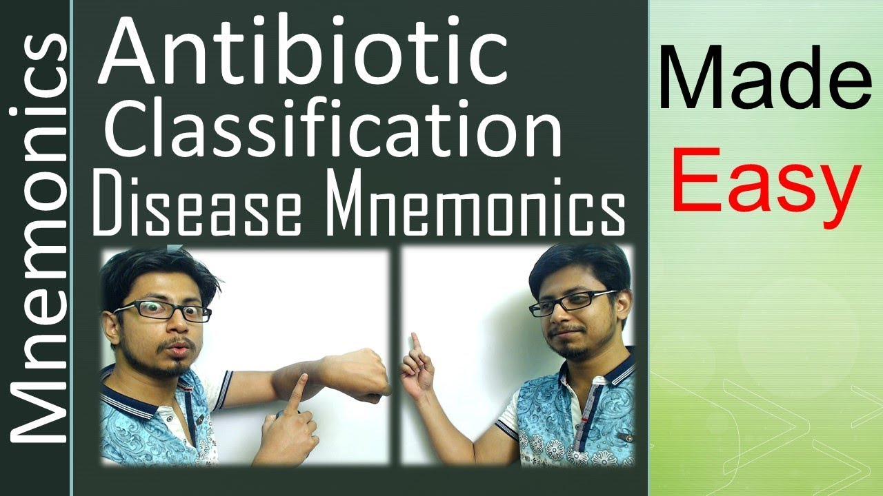 Antibiotics classification and mechanism of action | easy tricks to  remember with mnemonics