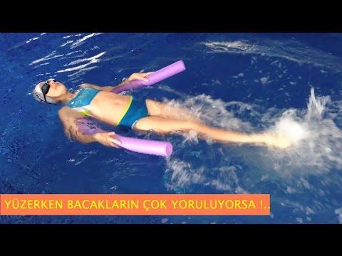 Yüzerken Bacakların Yorulmasını Önlemenin PÜF NOKTASI