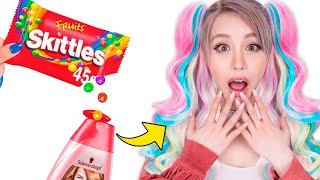 Testing Amazing Skittles Hacks From Troom Troom!