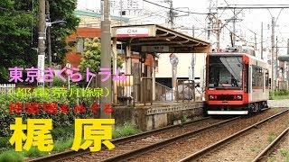 東京さくらトラム 小さな電車でおさんぽ日和 梶原停留場
