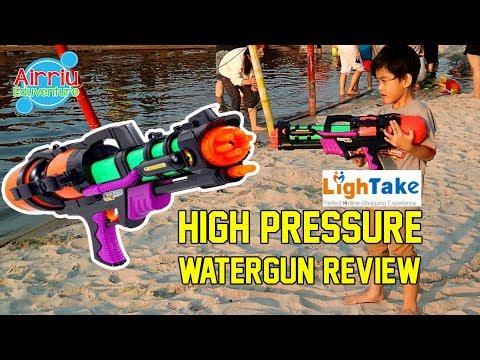 Playtime At The Beach With Best Water Gun From Lightake