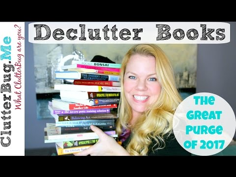 Declutter Books With Me - Great Purge 2017