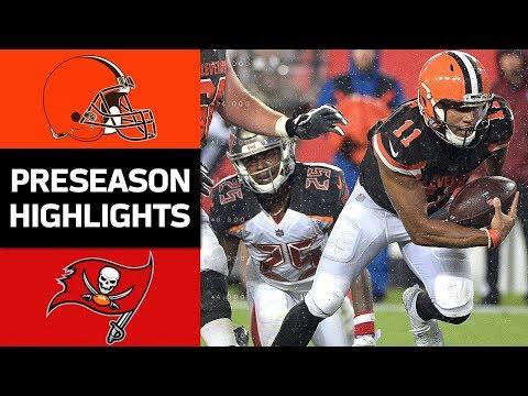 Browns vs. Buccaneers | NFL Preseason Week 3 Game Highlights