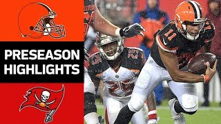 Browns vs. Buccaneers | NFL Preseason Week 3 Game Highlights
