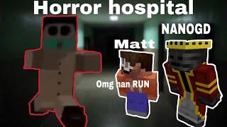 Minecraft bedrock hospital 2 map .ft. Matt brown (SCREAMS)