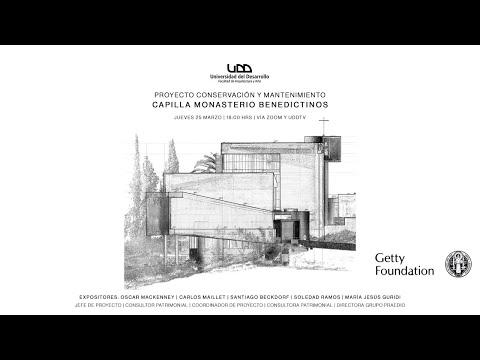 Proyecto Conservación y Mantenimiento capilla monasterio Benedictinos