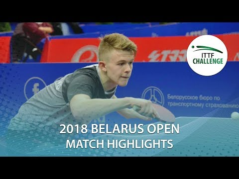 Tom Jarvis vs Thibaut Darcis | 2018 ITTF Challenge Belarus Open Highlights (Group)