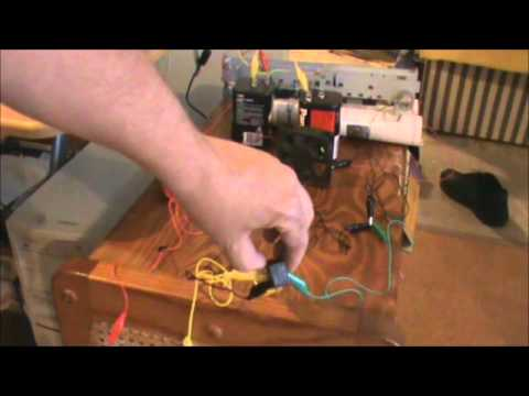 DPDT Relay Wired In Latching Mode YouTube - Dpdt Relay Animation