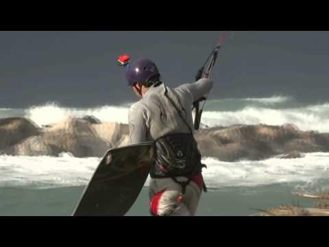 kitesurf ad Ischia 16 gennaio 2013