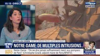 Notre-Dame : de nombreuses intrusions filmées