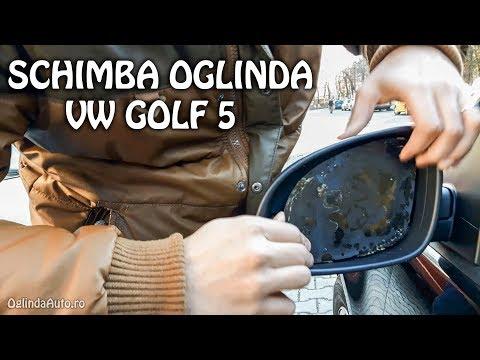 Decat Sa Lipesti Mai Bine Schimbi Oglinda Dezlipita VW Golf 5