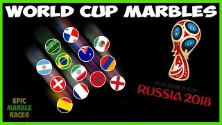 FIFA 2018 World Cup Marble Race - Group Stage