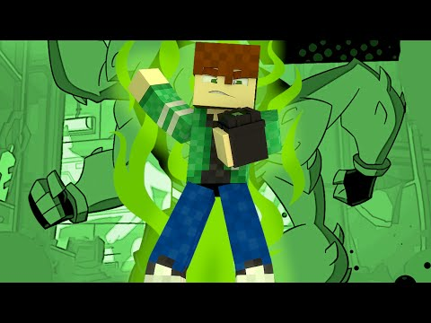 Minecraft Ben 10 Bugado !! (Build Battle)