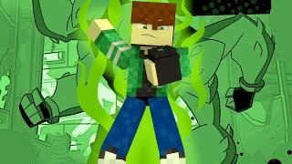 Minecraft Ben 10 Bugado !! (Build Battle)